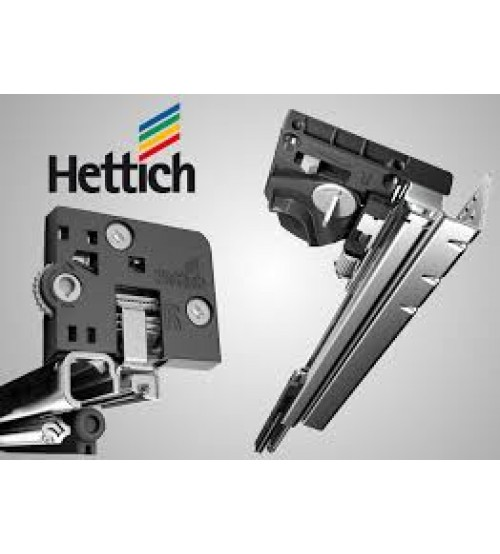 Hettich 4d Quadro V6 Full Extension Runner